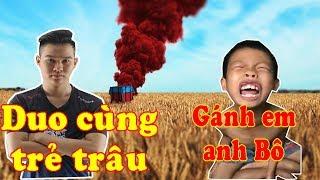Cười vỡ bụng khi Rambo duo PUBG cùng học sinh lớp 6