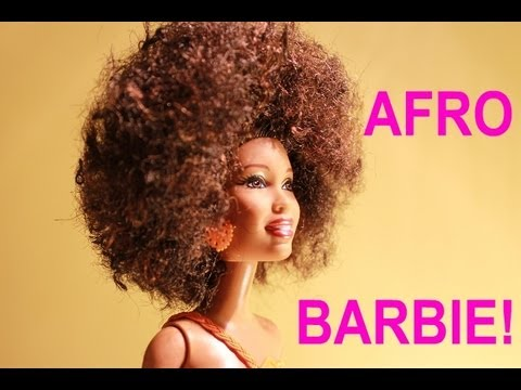 HOW TO MAKE YOUR BARBIE AFRO-LICIOUS!