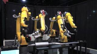 M-20iA and ARC Mate 100iC Compact Flexible Welding - FANUC Robot Industrial Automation