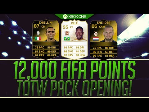 FIFA 14 - 12,000 FIFA POINTS PACK OPENING! THE HUNT FOR IF CHIELLINI!