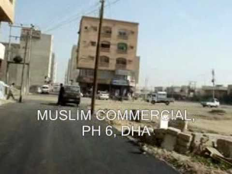 MUSLIM COMMERCIAL AREA  PHASE 6 DHA DEFENCE KARACHI PAKISTAN STUDIO APARTMENTS AND SHOPS CINEPLEX