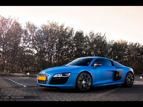 Modified: Audi R8 V10 w/ Akrapovic (DJ Afrojack) & BMW M5 w/ Eisenmann! Great noise!