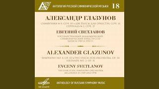 Symphony No. 8 in E-Flat Major, Op. 83: IV. Finale - Moderato sostenuto