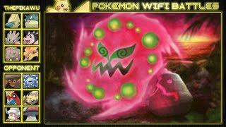 Spiritomb's Immortal Soul! (Pokemon Black and White RU Wifi Battle)
