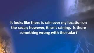 How weather radar works