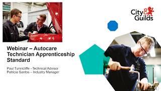 City & Guilds Autocare Apprenticeship Standard (9304)