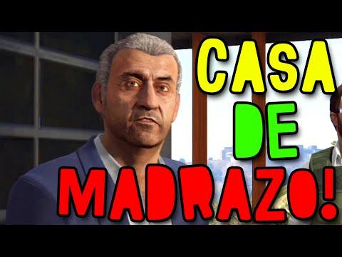 GTA V ONLINE 1.15 - BUG! COMO ENTRAR NA CASA DE MARTÍN MADRAZO!!