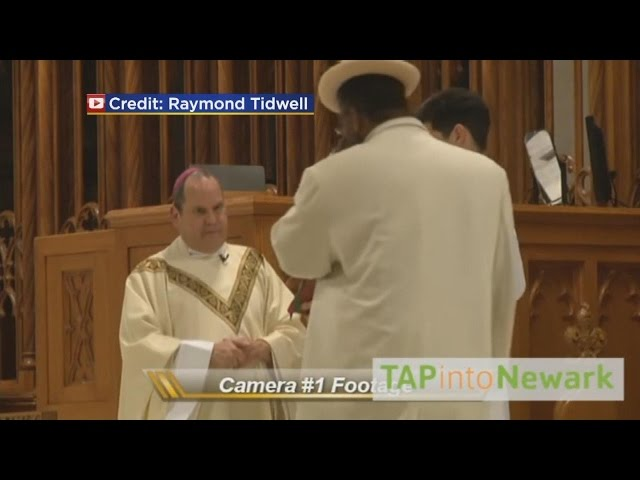 Video Shows Bishop Get Punched During Mass