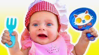 The Cafe Song | Maya and Mary Nursery Rhymes & Kids Songs