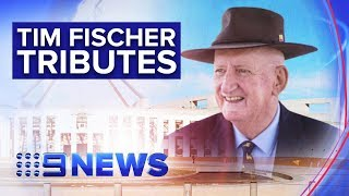 Former Deputy PM praised by all sides of politics after losing cancer battle | Nine News Australia