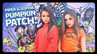 Mr.Bones Pumpkin Patch with my BEST FRIEND Piper Rockelle | Sophie Fergi