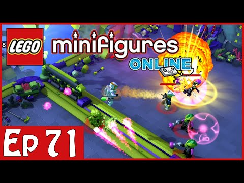 LEGO Minifigures Online: Part 71 - Space World Adventure