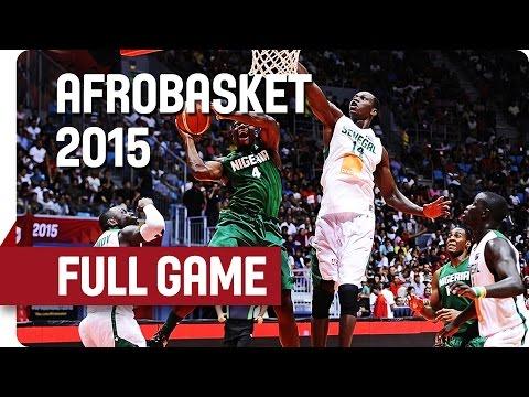 Senegal v Nigeria - Semi-Final - Full Game - AfroBasket 2015