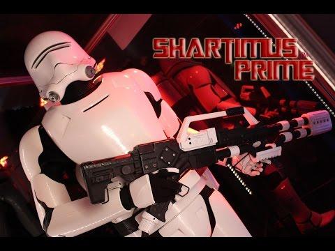 Star Wars Episode 7 The Force Awakens Showroom Star Wars Celebration 2015