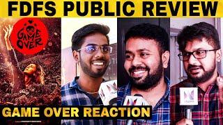 Game Over FDFS Public Review | Taapsee Pannu | Ashwin Saravanan | Ron Ethan Yohann