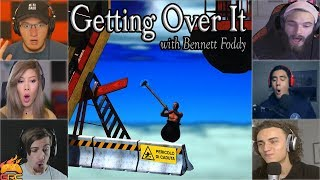 "Gamers Reactions to Falling Down at ""Danger of Falling"" Sign 