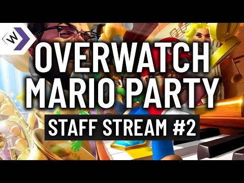 Playing Mario Party in Overwatch?? Crazy Workshop mode!