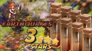Clash of clans - Valkyrie + Earthquake clear Hall 11 3 star