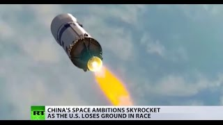 Red star rising? China's space ambitions skyrocket as the US loses ground in race