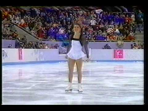 Interview with Nancy Kerrigan (USA) - 1994 Lillehammer, Figure Skating