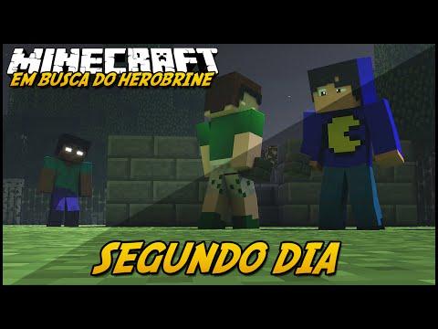 Minecraft: EM BUSCA DO HEROBRINE - SEGUNDO DIA! #2