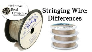 Differences in Stringing Wire (What Kind of Wire to Use)