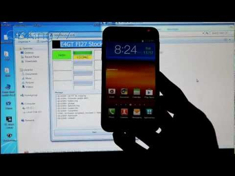 How to Unroot/Unbrick the Samsung Epic 4G Touch to Stock FI27 ICS