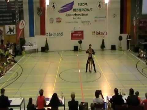 Coletta Braun & Philipp Seidenschwarz - European B-Cup Eggenfelden 2011