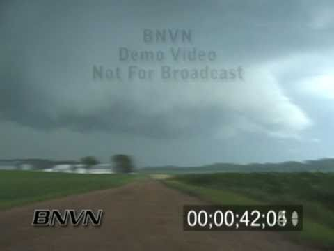 7/19/2003 Dark and ominous spinning cloud video