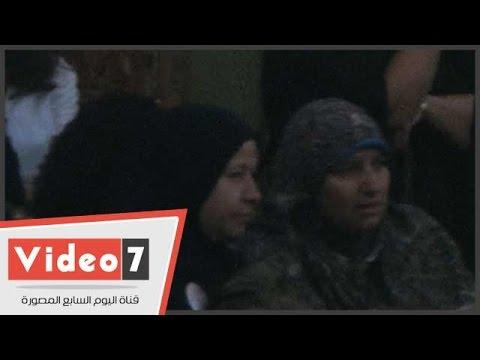 بالفيديو..زوجة البلتاجى وصباحى والقرضاوى وحمزاوى يشاركون فى عزاء «سيف الاسلام »