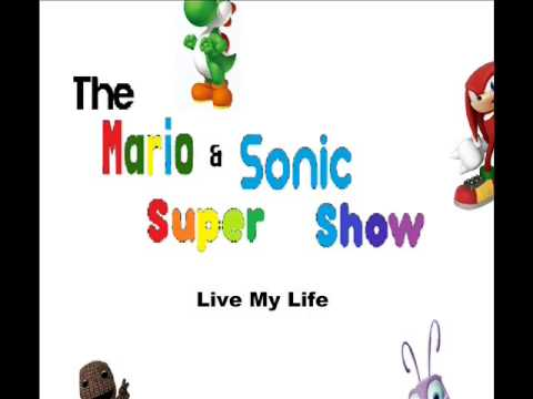 Live My Life - Sackboy, Marvin, Sonic And Silver (Full Studio)
