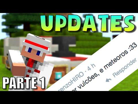 SE MINECRAFT NÃO TIVESSE MAIS GRAVIDADE (Minecraft Updates) #1