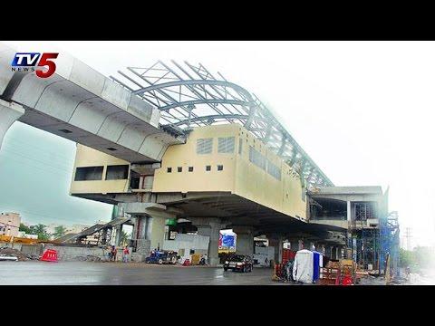 Hyderabad Metro Rail Disputes | NVS Reddy Met with Rajiv Sharma : TV5 News