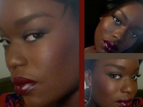 African American Bridal Makeup I: Color Correction. Foundation. Concealer.  Contouring