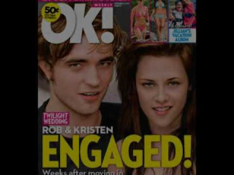 Robert Pattinson Kristen Stewart Engaged on Robert Pattinson   Kristen Stewart  Engaged