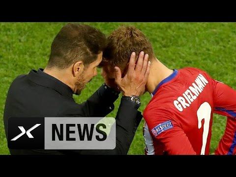 "Diego Simeone: ""Niemand verdient den Ballon d'Or mehr als Antoine Griezmann"" | Atletico Madrid"