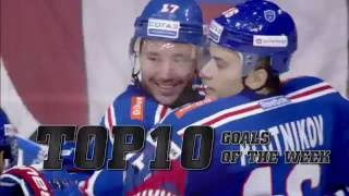 KHL Top 10 Goals for Week 1