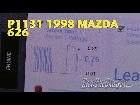P1131 1998 Mazda 626 -EricTheCarGuy