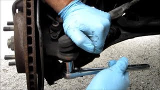 The Honda CRV Inner and Outer Tie Rod Ends Video