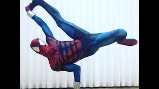 TstunningSpidey: Radioactive! (Spider-Man Breakdancing, Flips & Tricks 2016)