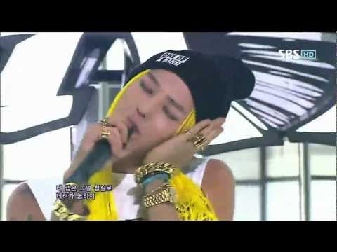 [COMBACK] G-DRAGON [ONE OF A KIND + CRAYON] @SBS Inkigayo  20120916