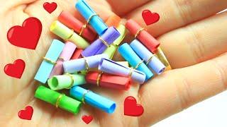 How To Make Encapsulated Miniature Secret Message - DIY Miniature Secret Message Cards