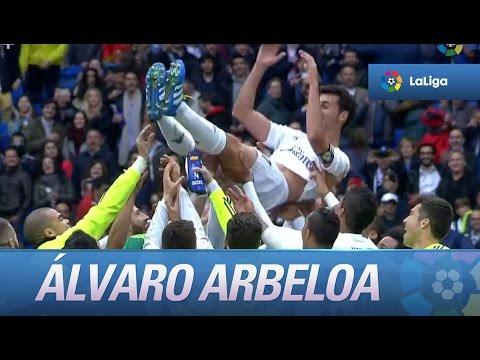 Álvaro Arbeloa se despide del Real Madrid