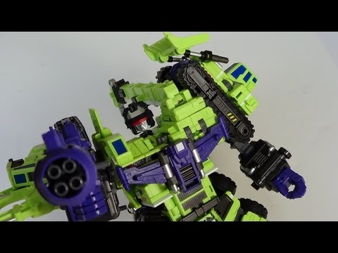 Maketoys Giant Green Type-61 (Transformers Classics Devastator and Constructicons) Figure Review