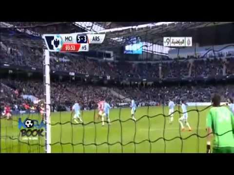 Manchester City vs Arsenal 6-3 2013 All Goals & Highlights 14 12 2013 HD