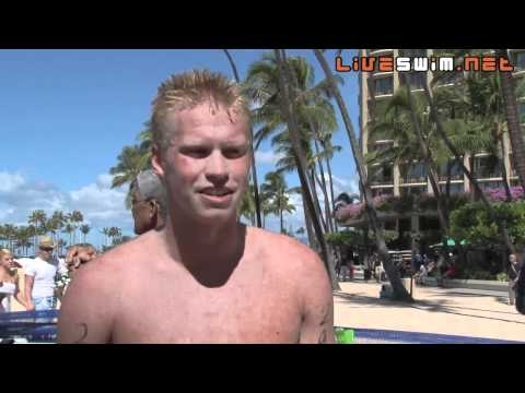 Chip Peterson Post Race Interview - 2010 Waikiki Rough Water Swim
