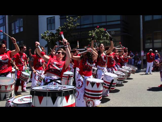 Batala San Francisco at 2014 San Francisco Carnaval