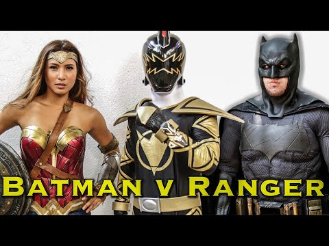 BATMAN v RANGER - feat. Bubbles Paraiso as WONDER WOMAN [FAN FILM] Power Rangers | DC