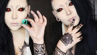 Tokyo Ghoul Uta Cosplay Makeu Tutorial Youtube Downloader Free