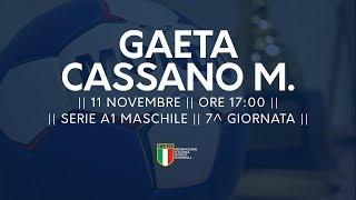 Serie A1M [7^]: Gaeta - Cassano Magnago 26-29